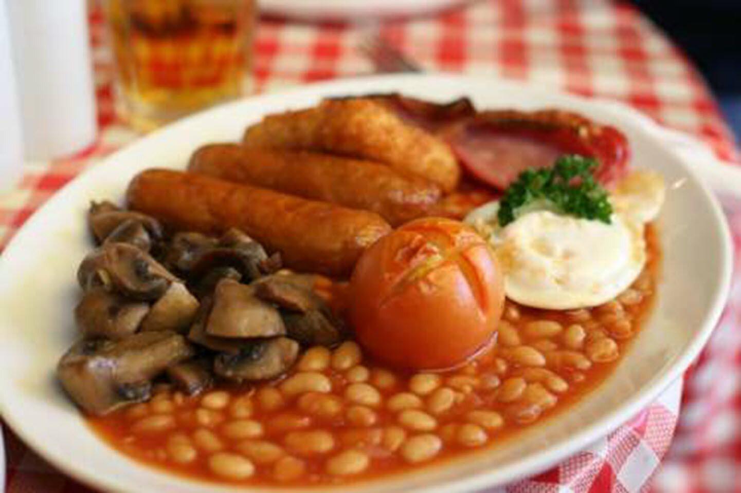 full english breakfast for one