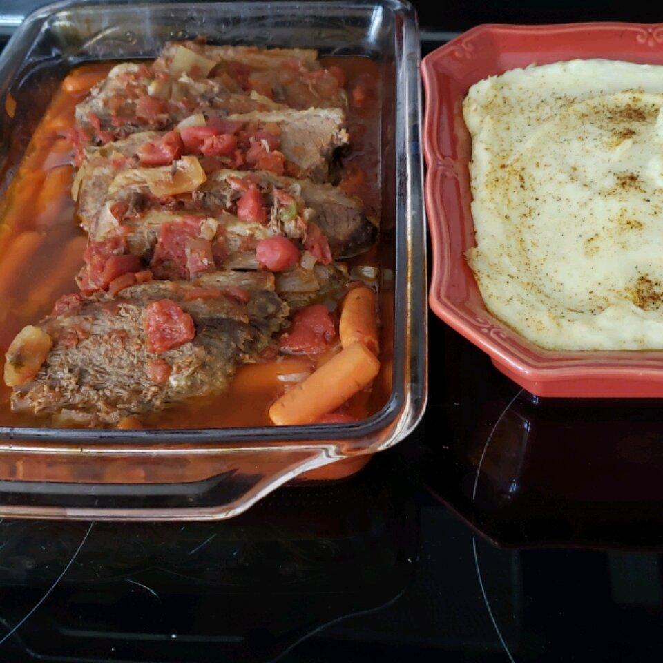 brasato stile italiano pot roast italian style recipe