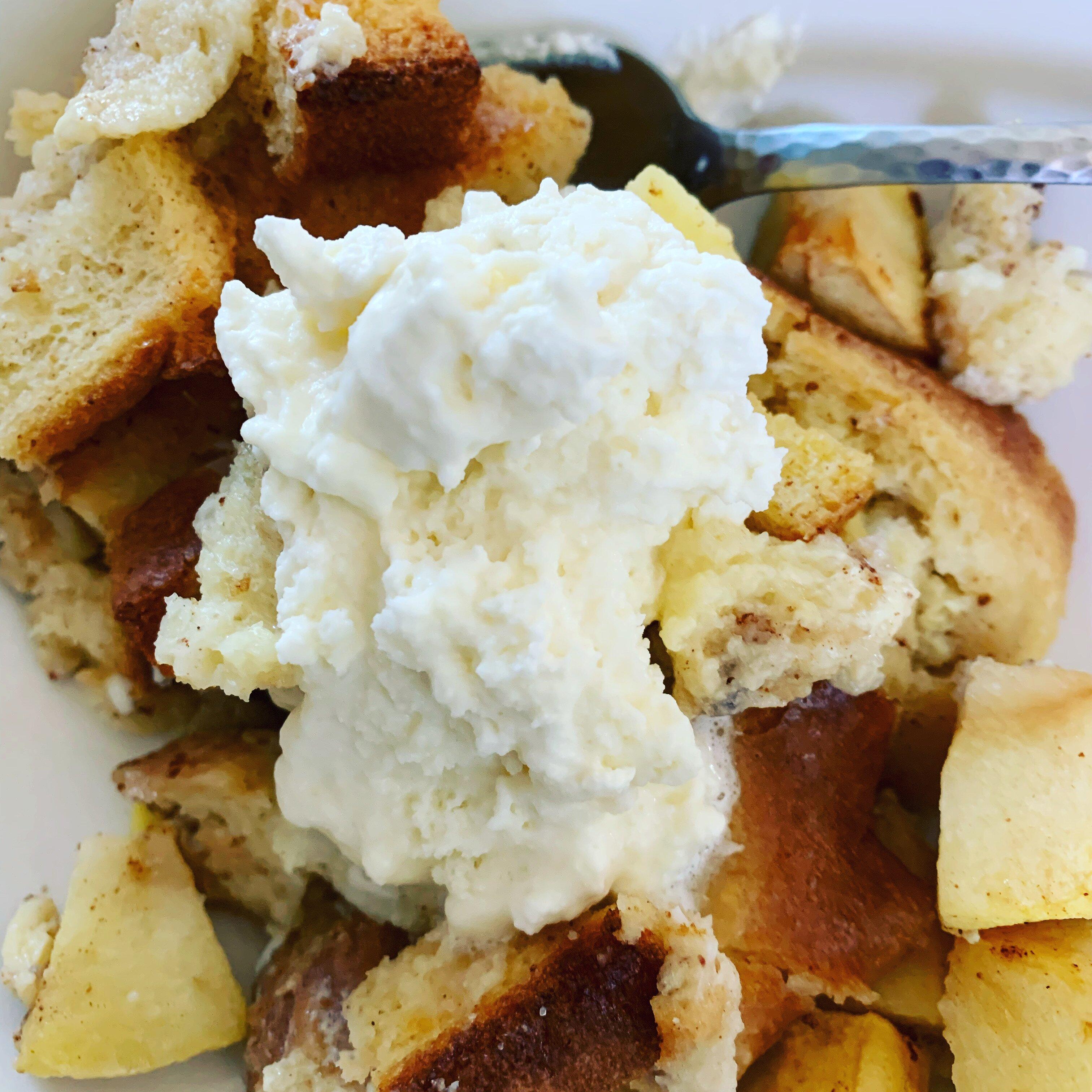 healthier bread pudding ii recipe
