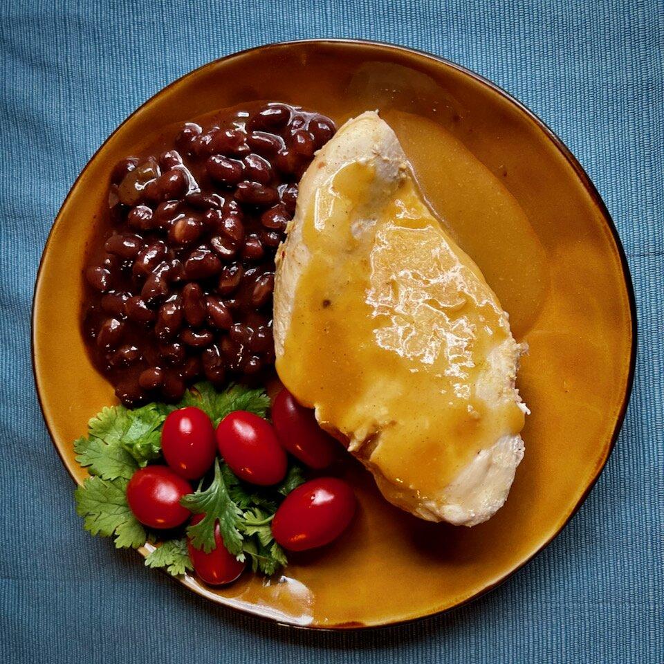 cuban style slow cooker mojo chicken