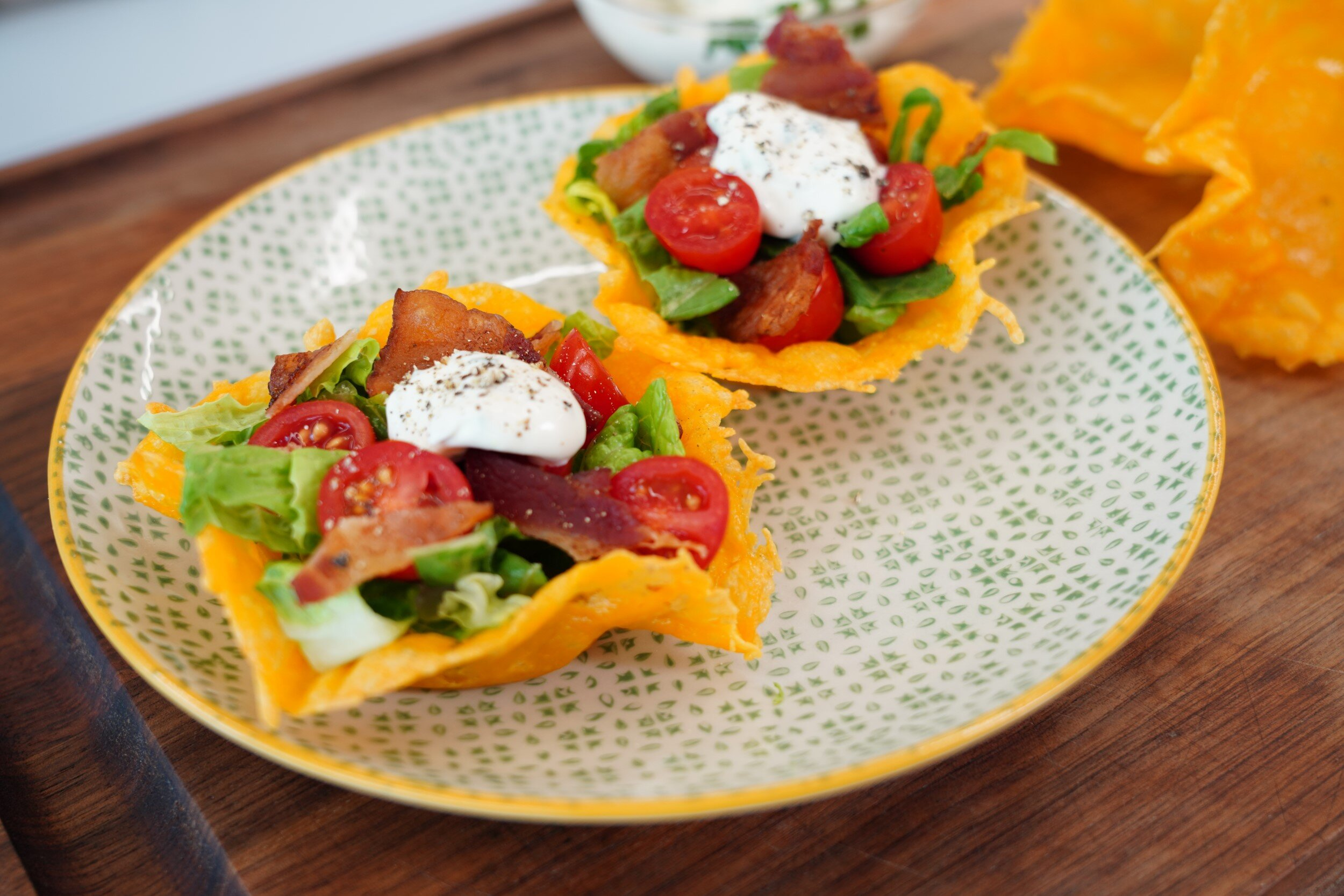 blt cheese cups