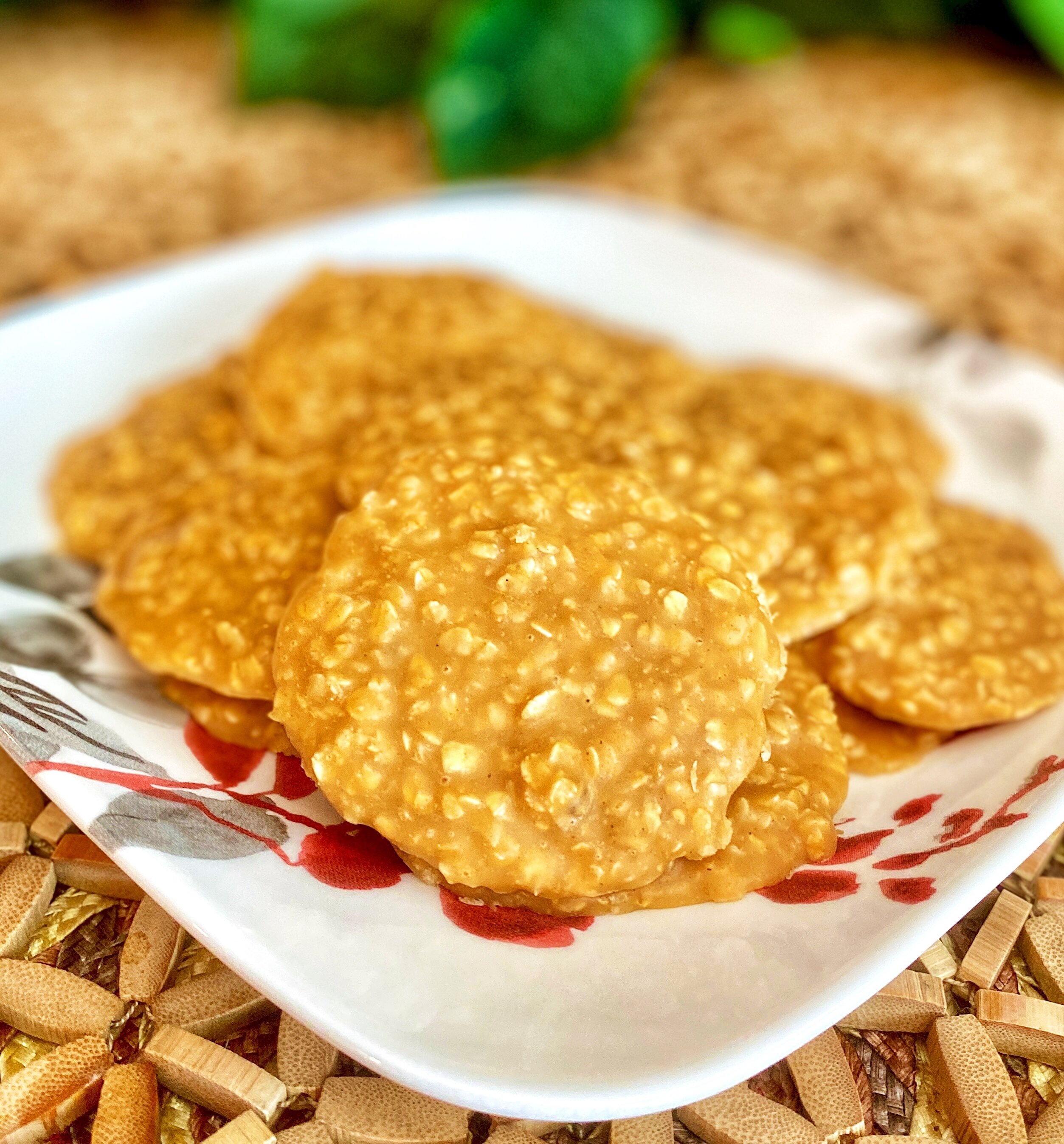 easy oatmeal peanut butter cookies