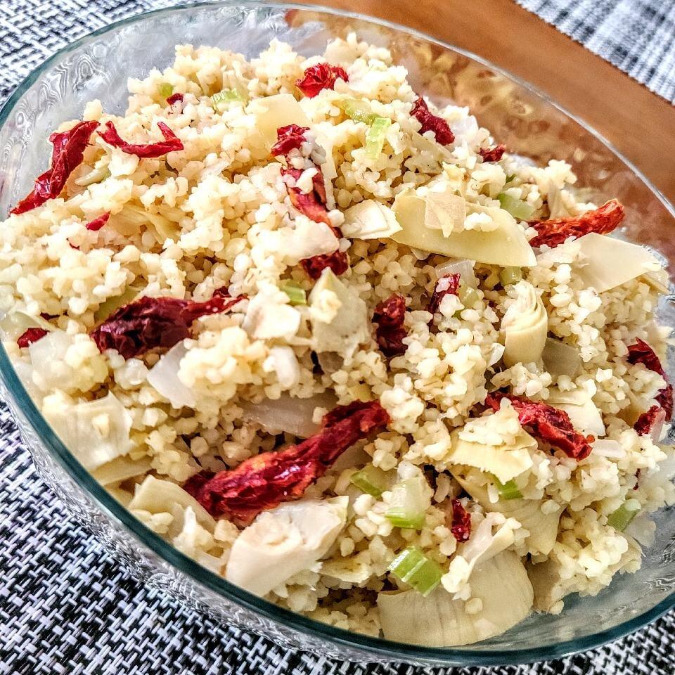 mediterranean bulgur wheat recipe
