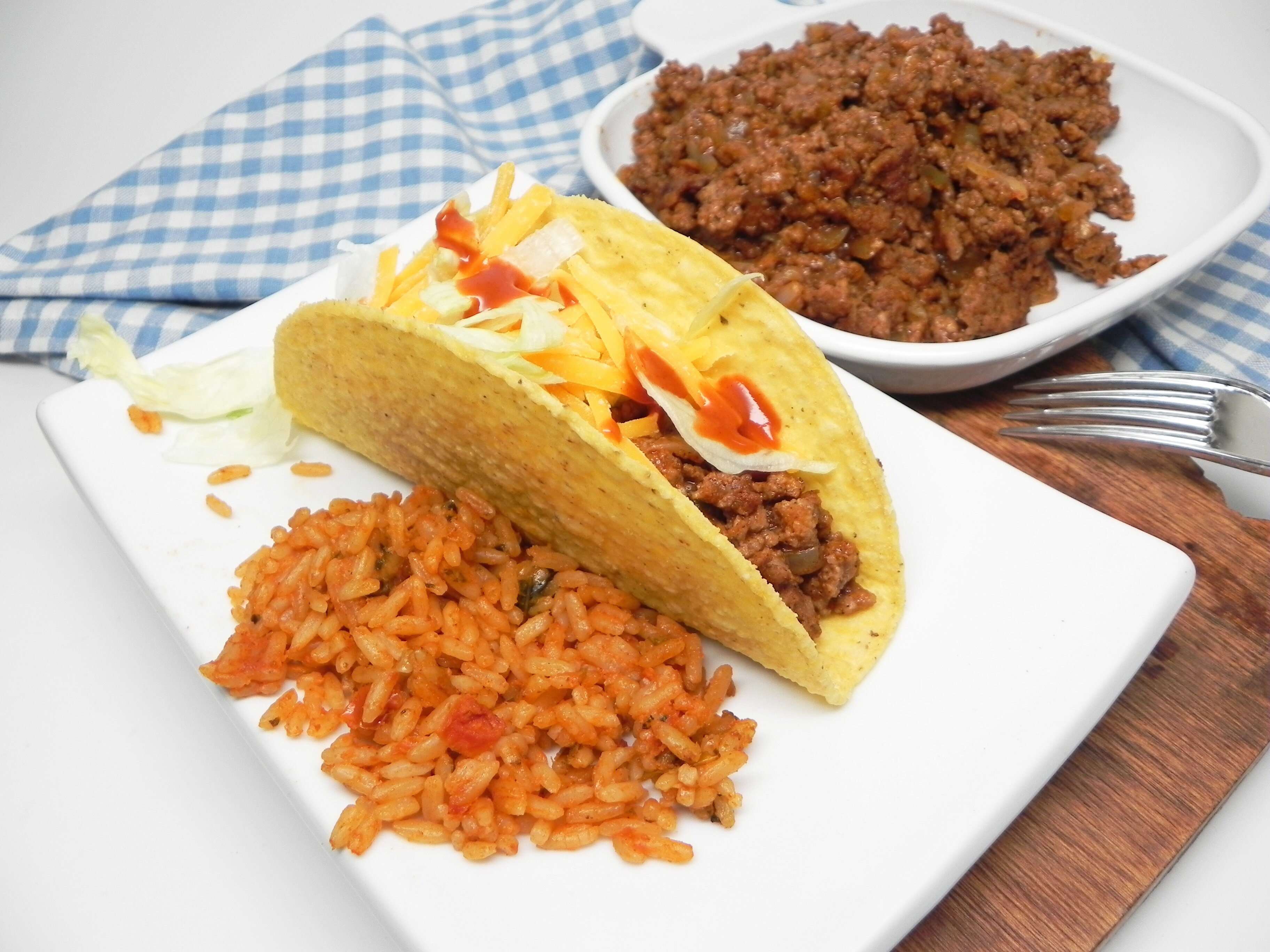 ground beef for tacos recipe