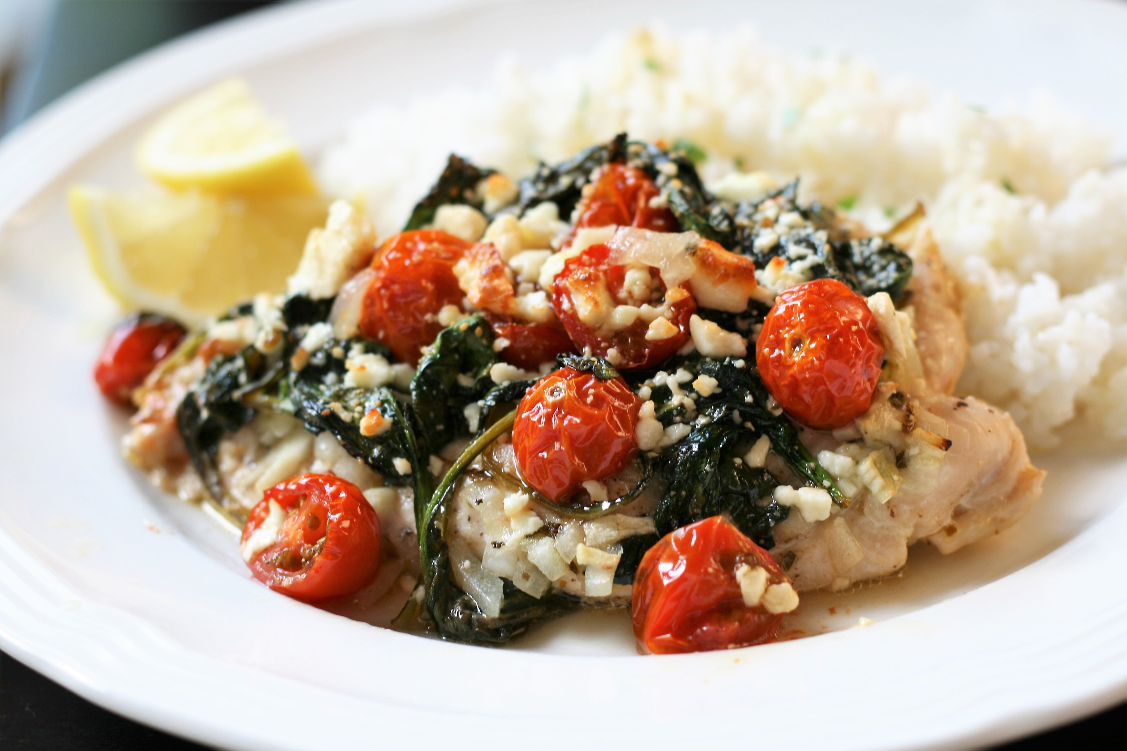 mediterranean baked chicken recipe