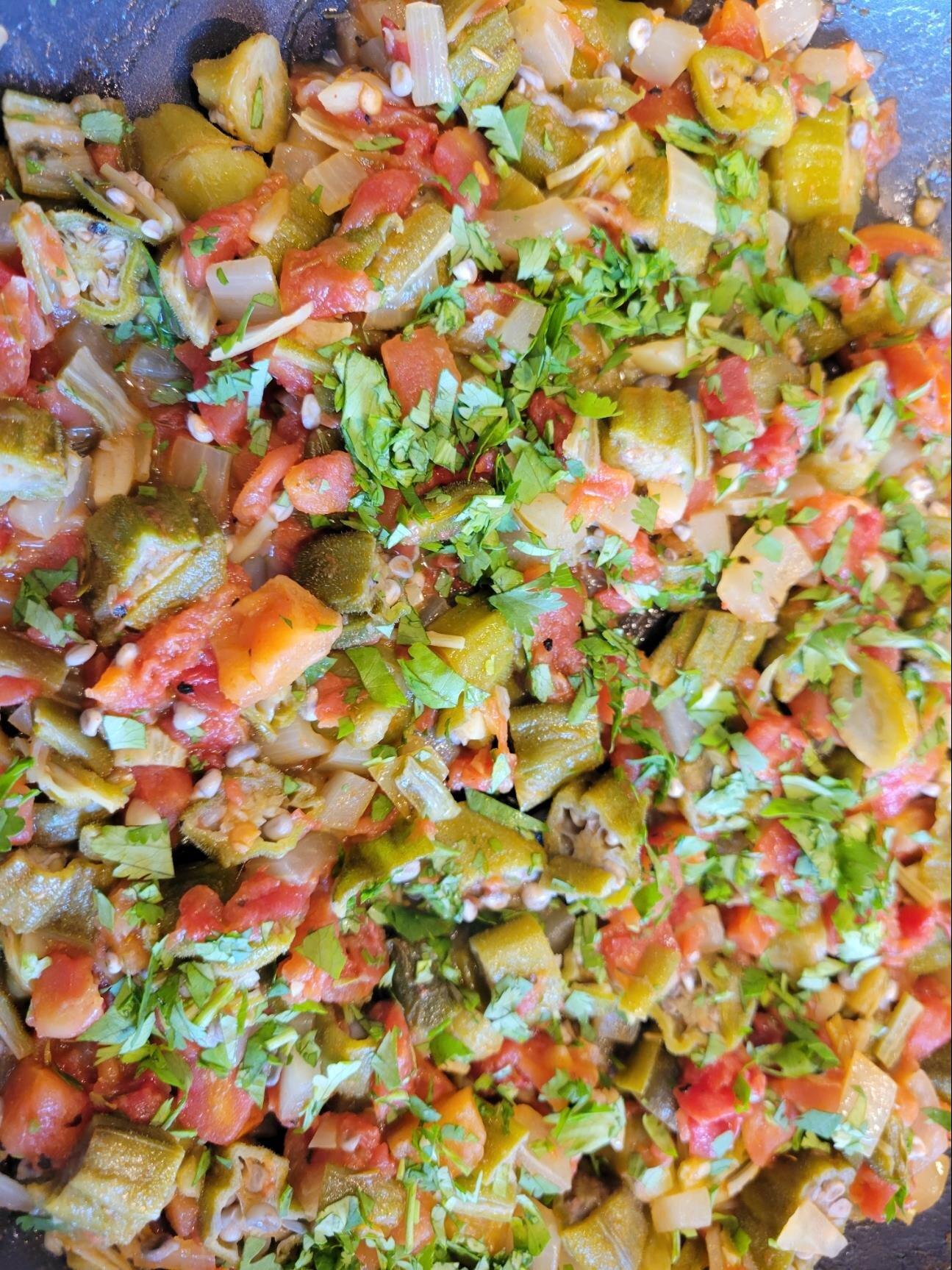 creole okra recipe