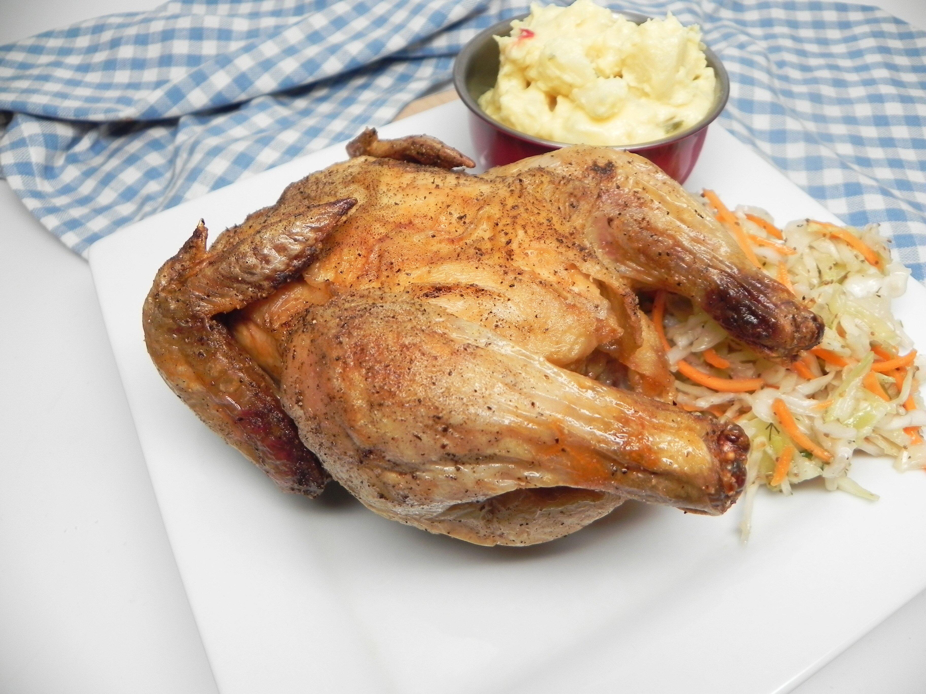 air fryer cornish hen
