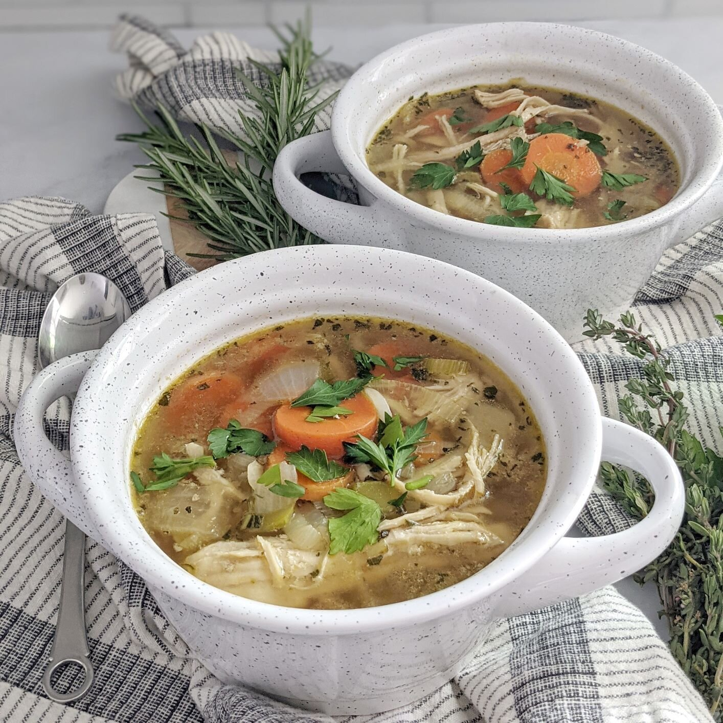 low carb chicken vegetable soup recipe