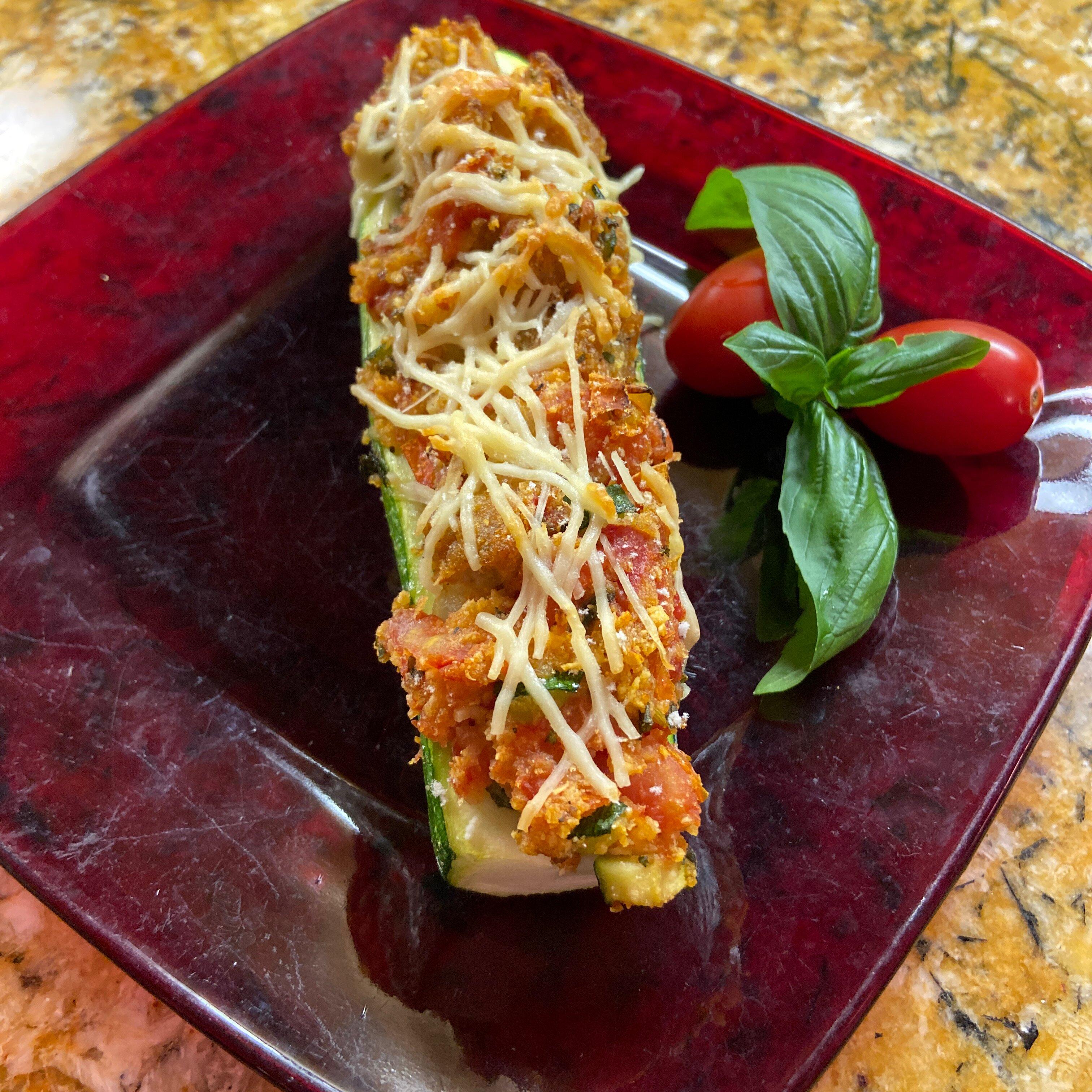 stuffed zucchini with chicken sausage recipe