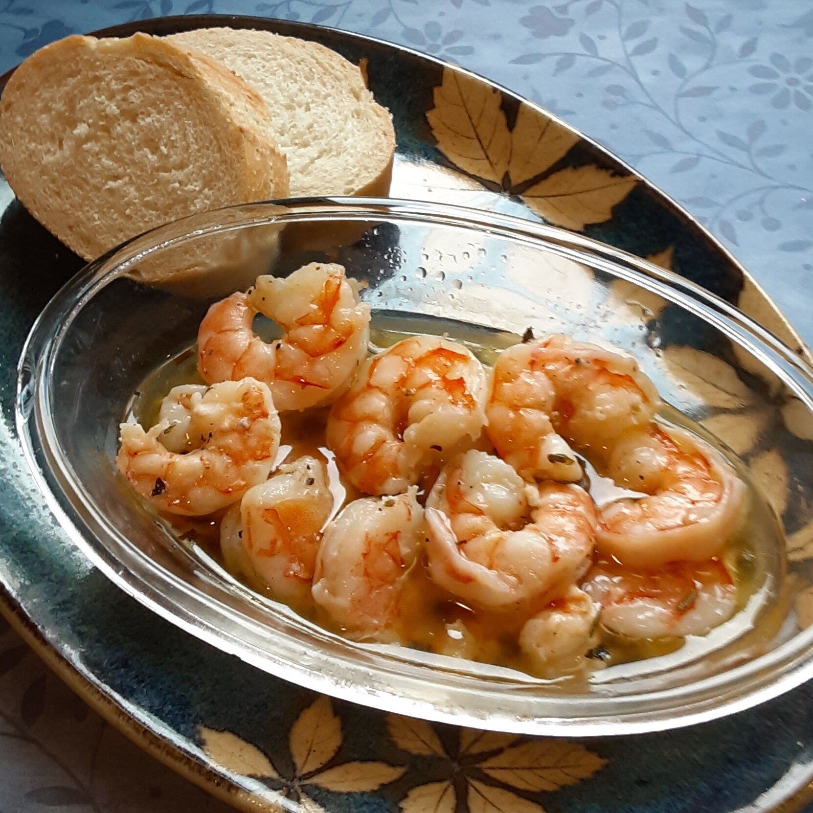 herbed shrimp scampi in a pouch recipe