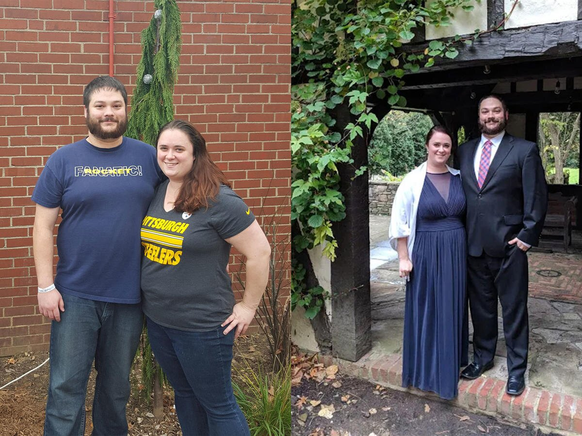 Here's How This Ohio Couple Stopped Counting Calories and Lost 128 Pounds