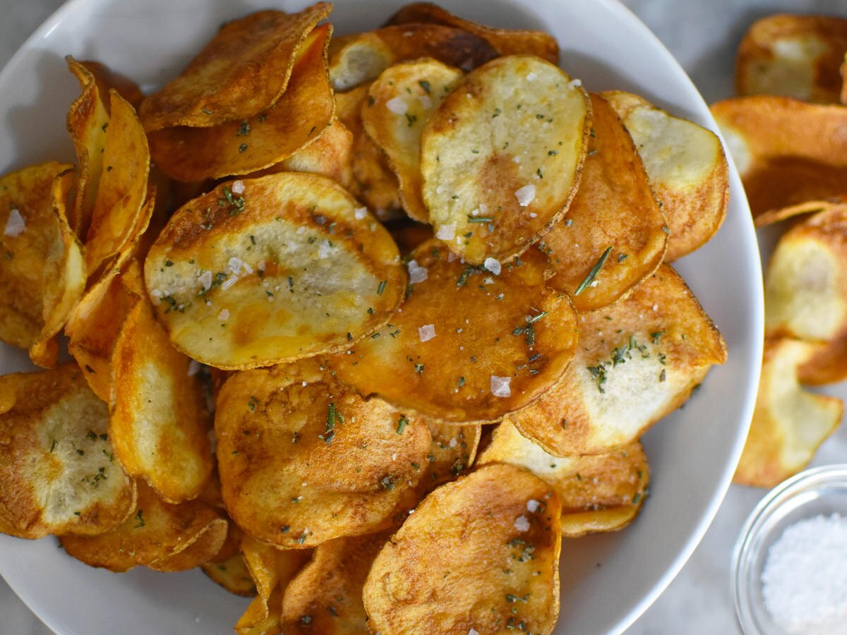Air Fryer Potato Chips Recipe Cooking Light