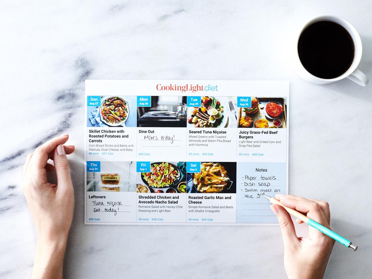 Anyone Know Where to Find A Great Calorie-Based Meal Plan?