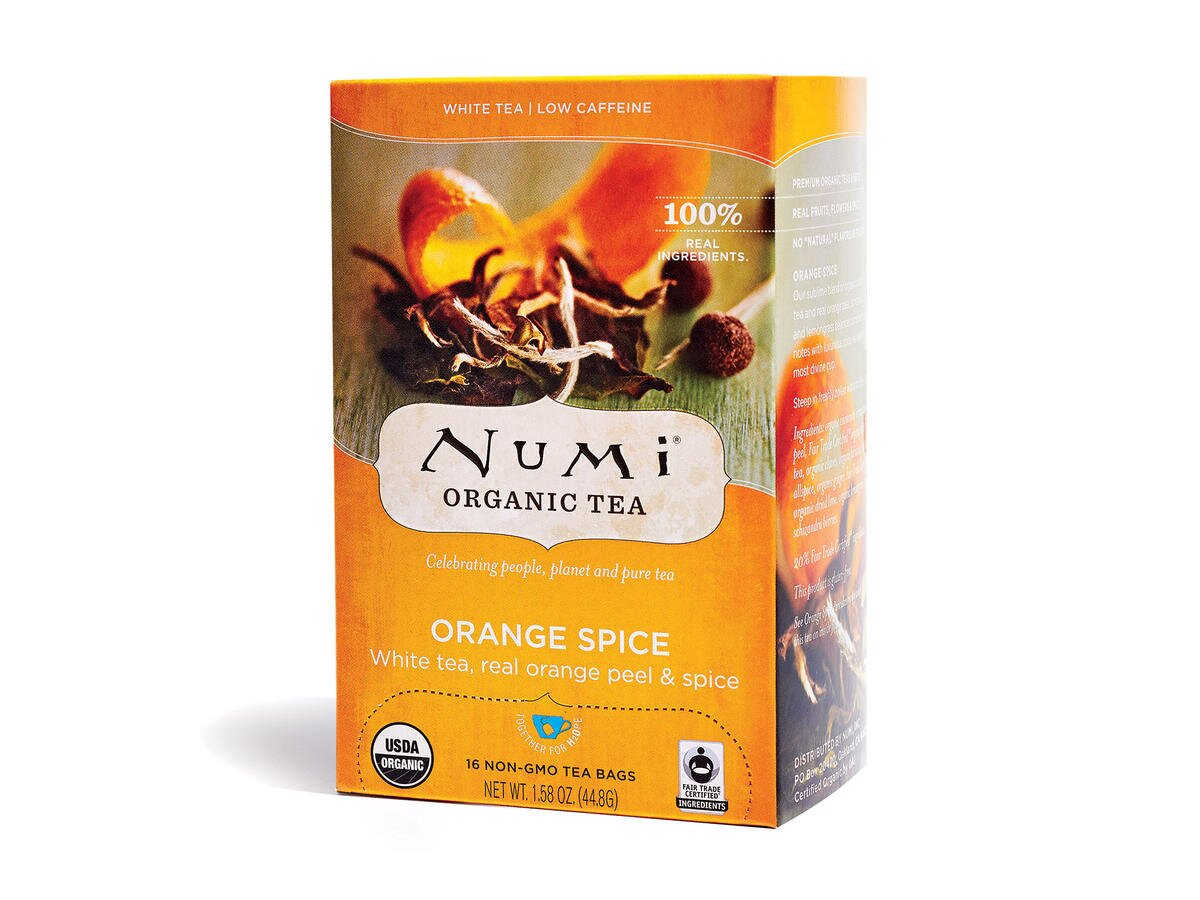 Tè Numi Orange Spice