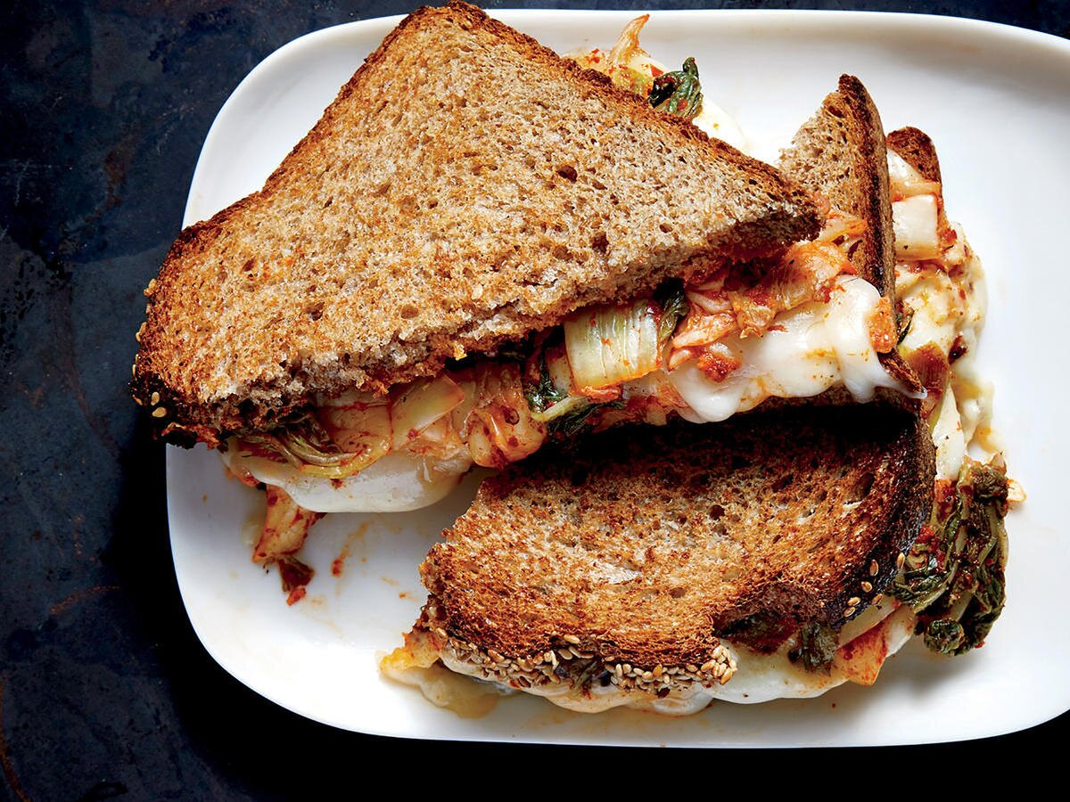 30 Healthy Grilled Cheese Makeovers Cooking Light