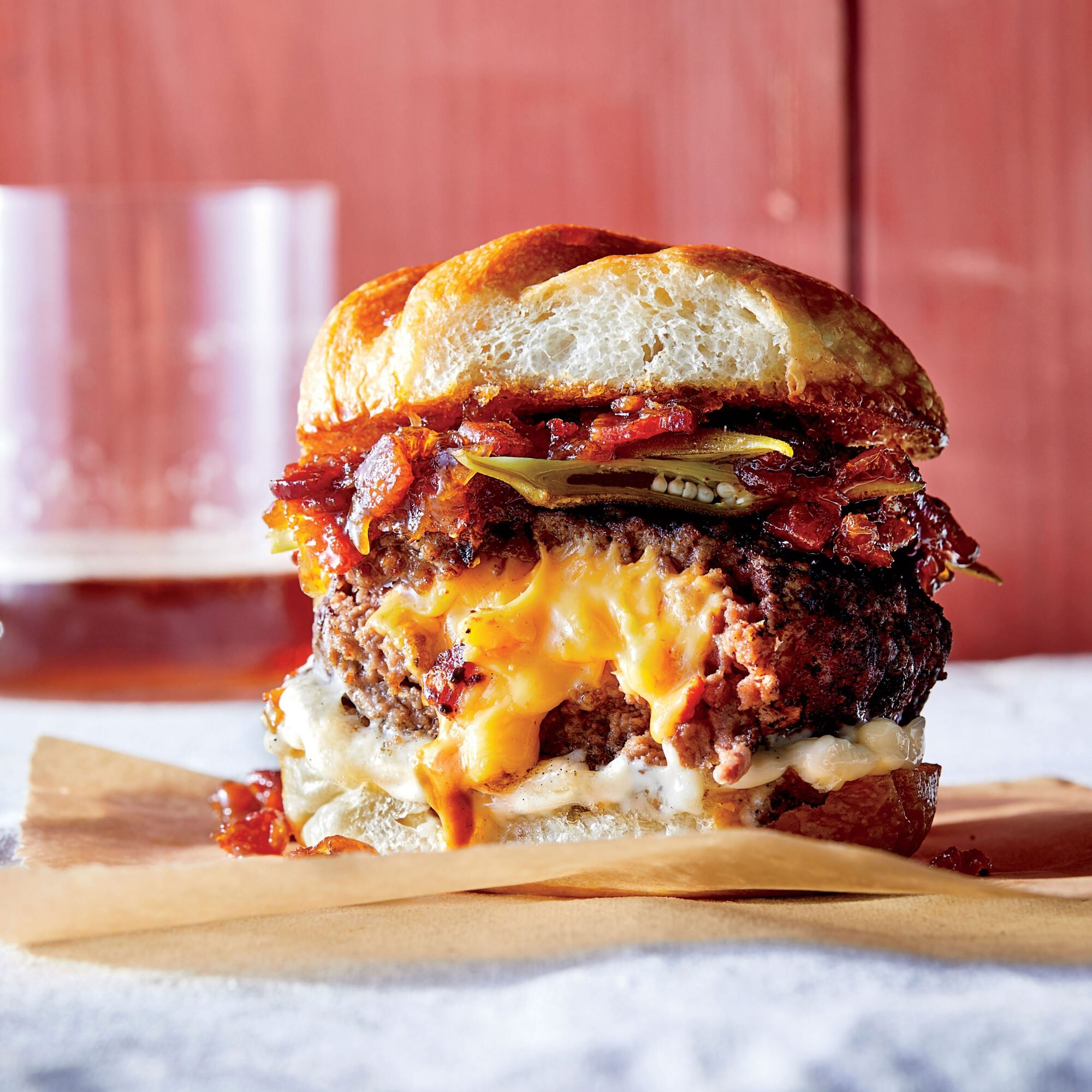 Lowcountry Juicy Lucy Recipe