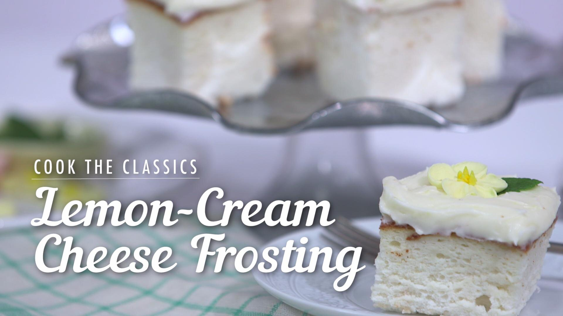 How to Make Lemon-Cream Cheese Frosting