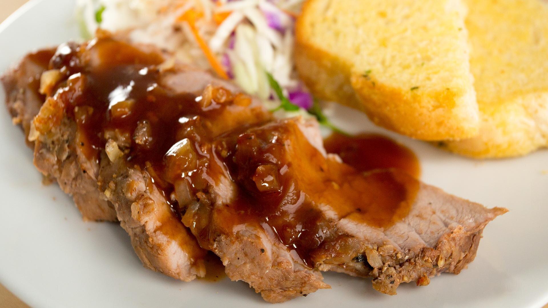 How to Make Couldn't Be Easier BBQ Pork Tenderloin