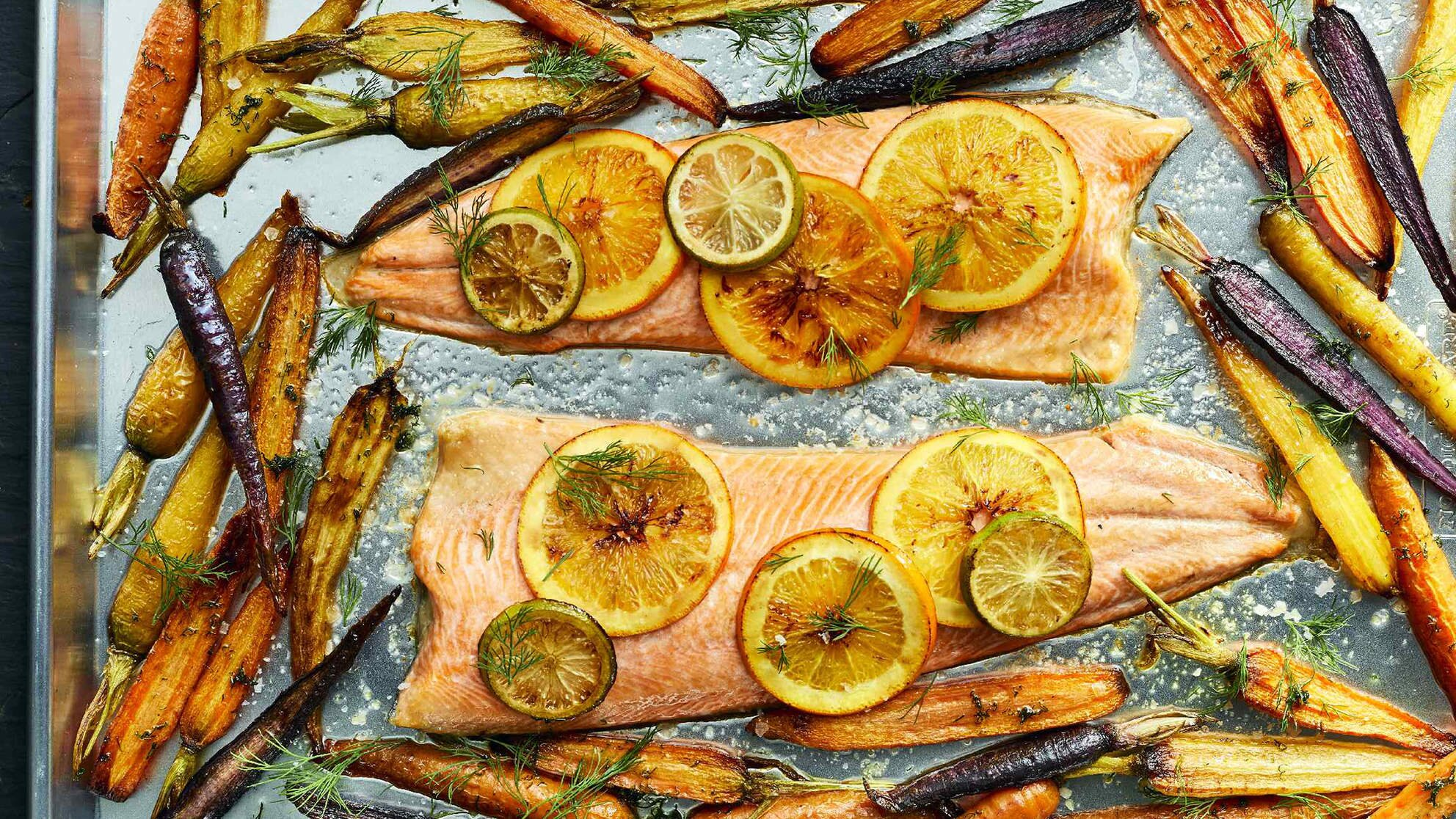 Photo of How To Make Roasted Arctic Char With Carrots & Citrus