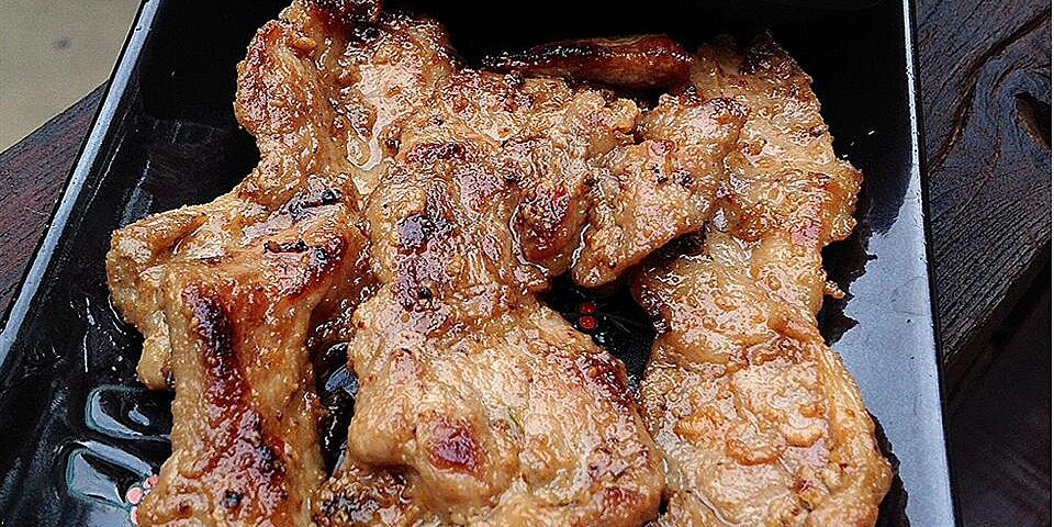 indonesian pork satay recipe