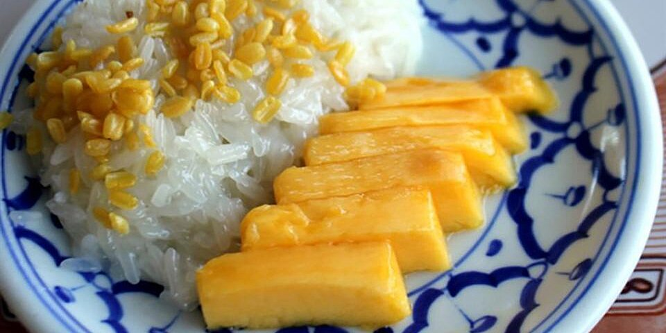 refined sugar free mango sticky rice recipe