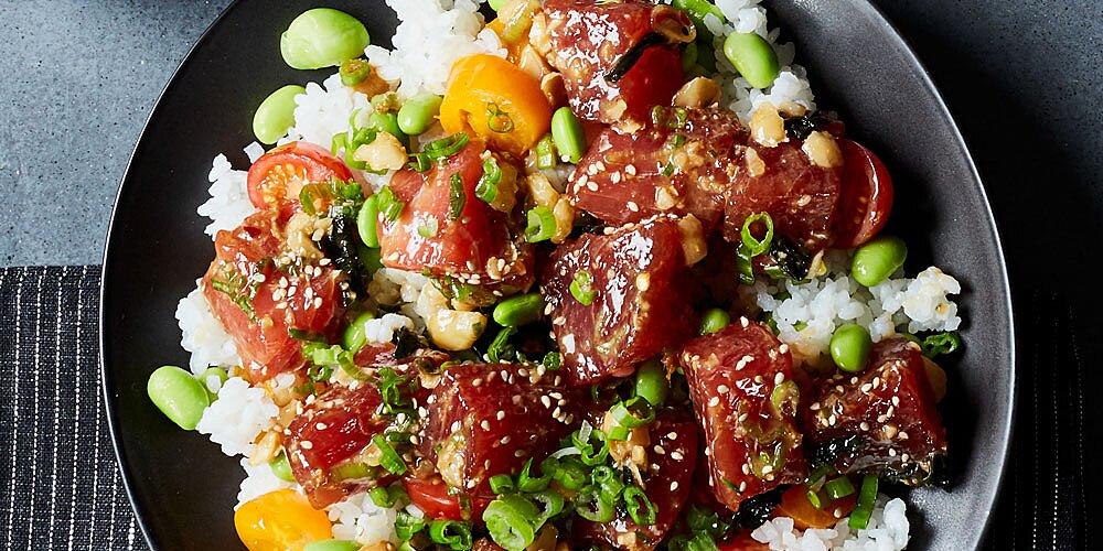 chef johns hawaiian style ahi poke