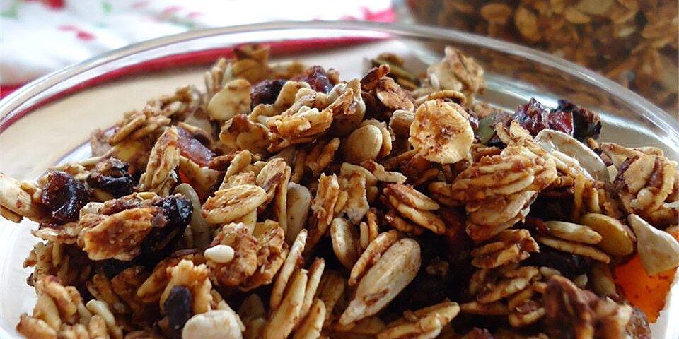 crunchy and delicious granola recipe