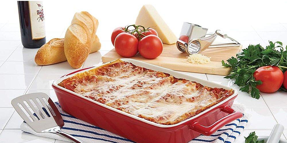 win this ceramic lasagna pan