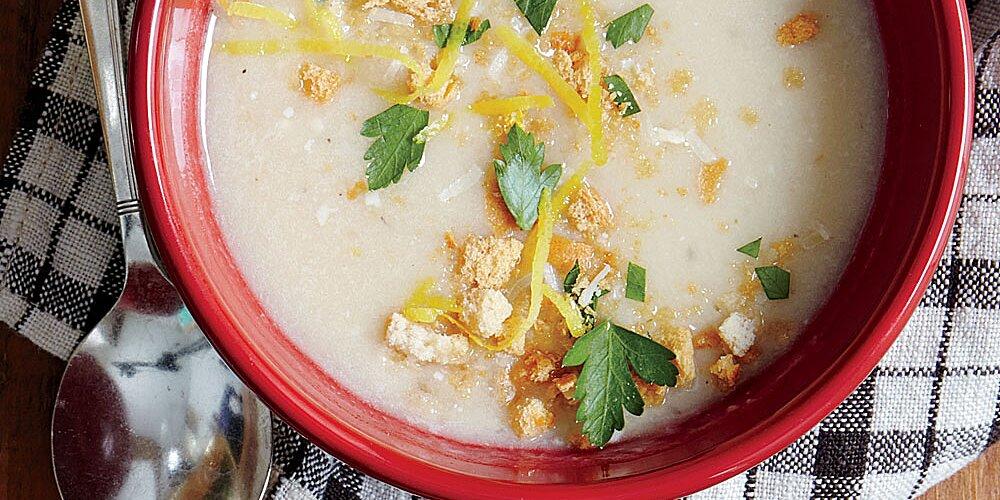 Creamy Garlic Soup Recipe