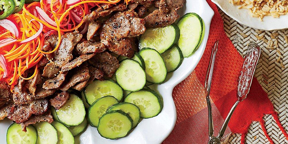 Bánh Mì Rice Salad Recipe