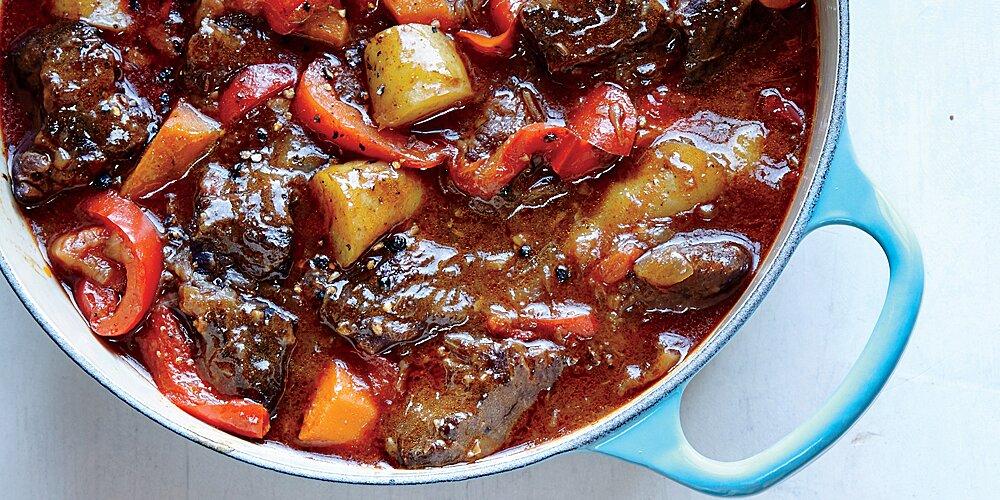 Hungarian Beef Stew Recipe Myrecipes
