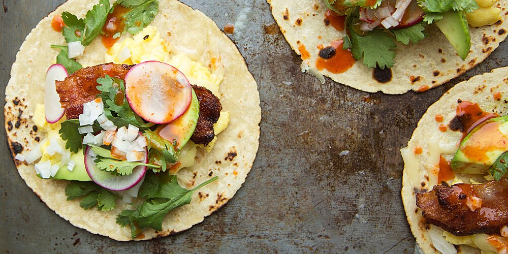 Breakfast Tacos Recipe Justin Chapple Food Wine