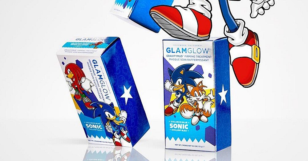 Glamglow Released Three New Designs For Their Sonic The Hedgehog Mask And You Re Going To Want To Collect Them All Hellogiggles