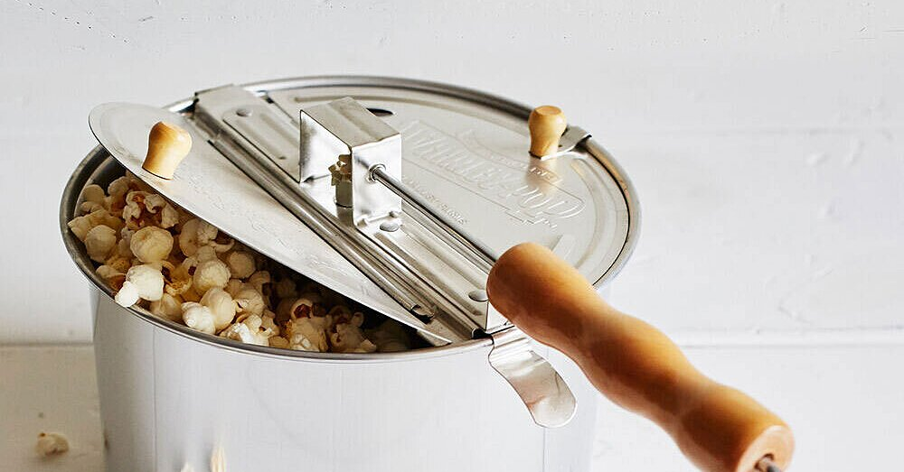 This Stovetop Gadget Is the Secret to Light and Fluffy Popcorn