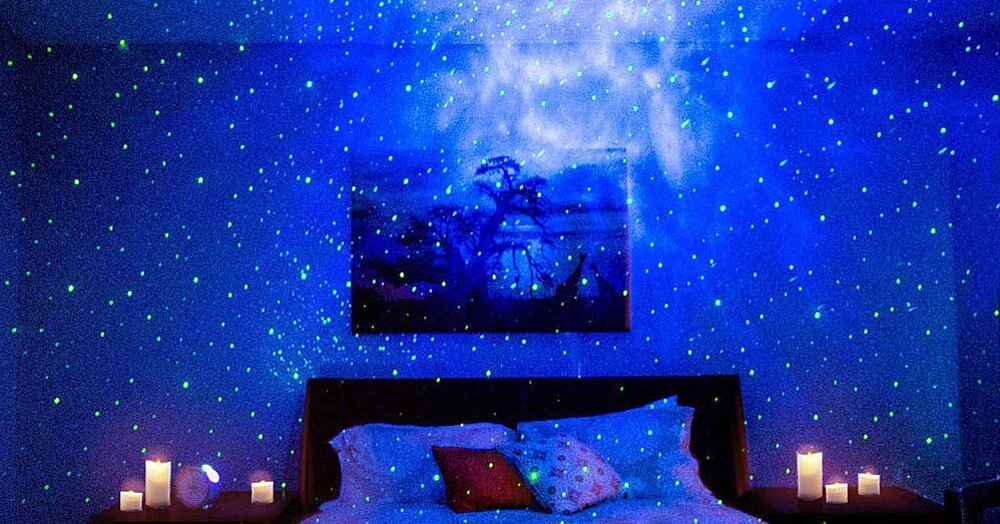 This Best-Selling Amazon Night Light Transforms Your Bedroom Into a Starry Night Sky