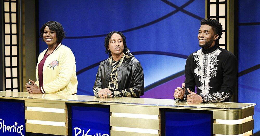 Rewatch Chadwick Boseman in hilarious 'SNL' Black Jeopardy sketch