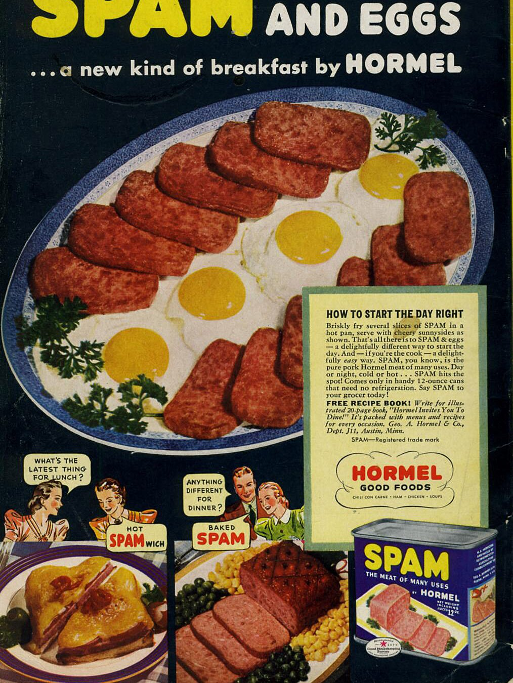 7 Vintage Spam Breakfast Recipes That You Might Actually Eat Myrecipes