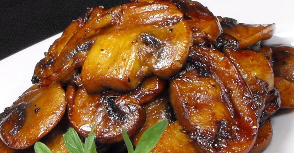 Mushrooms With A Soy Sauce Glaze Recipe Allrecipes