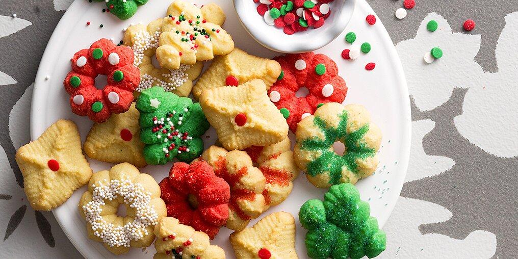 my moms spritz cookies recipe