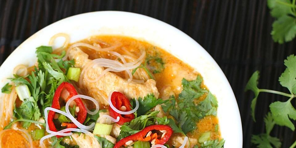 five ingredient red curry chicken recipe