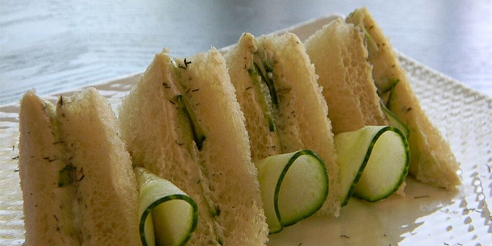 english tea cucumber sandwiches recipe