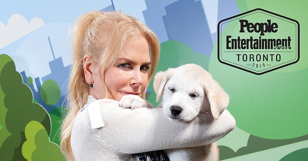 Paws-itively Adorable Photos of Celebs Meeting Puppies at Past Toronto Film Festivals