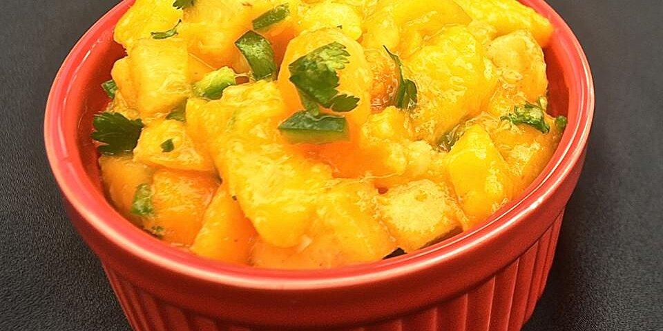 spicy mango salsa recipe