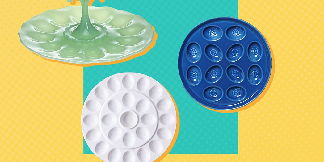 11 of the prettiest deviled egg trays