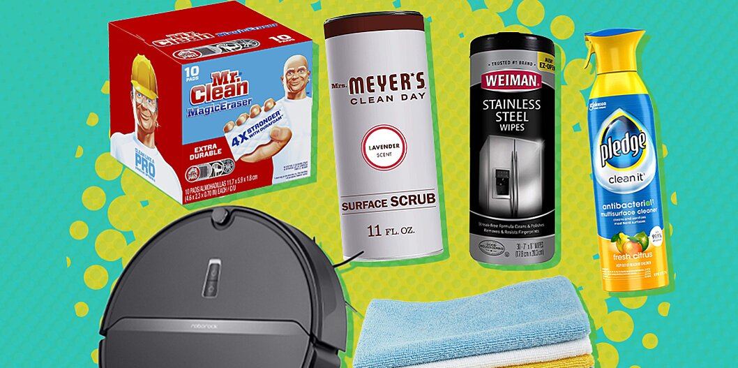 8 essential kitchen cleaning products