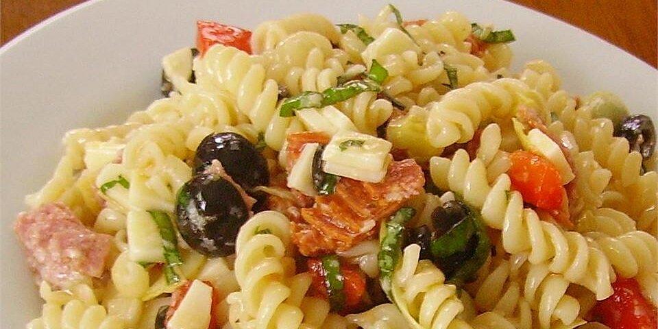 quick antipasto pasta salad recipe