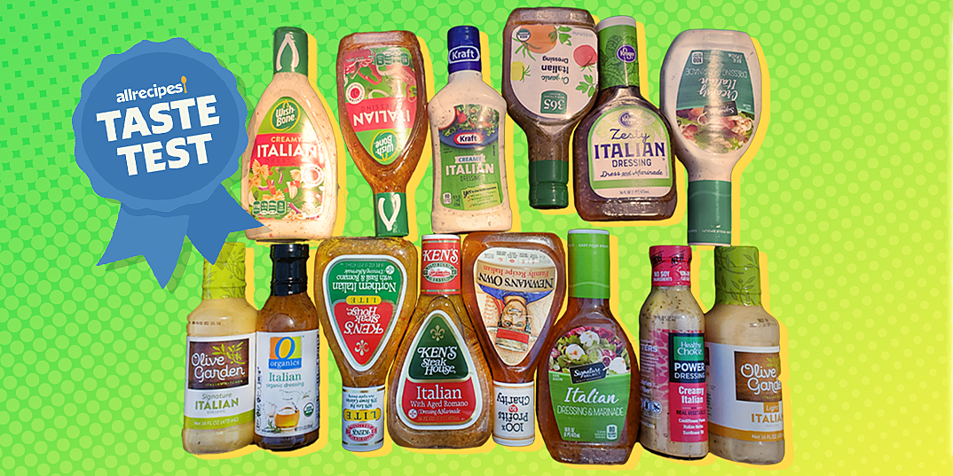 we tried 14 types of italian dressing and this was our favorite