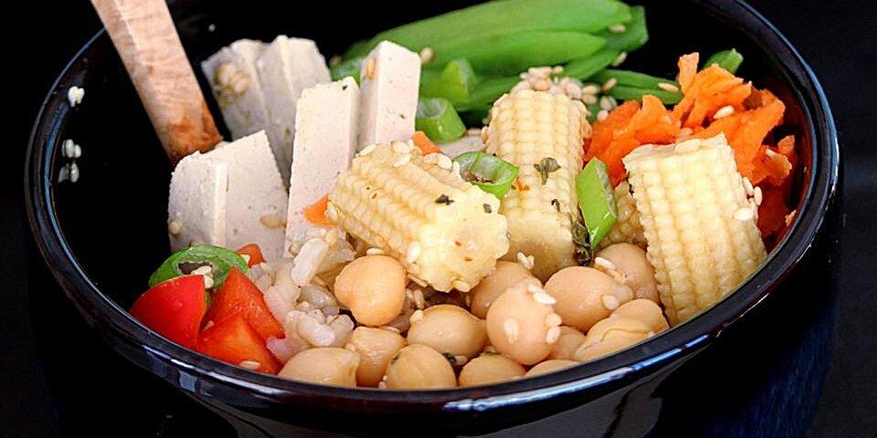 brown rice buddha bowl recipe