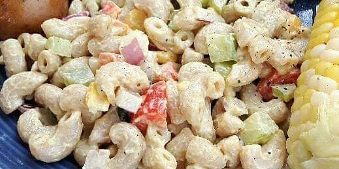 creamy vegan pasta salad recipe