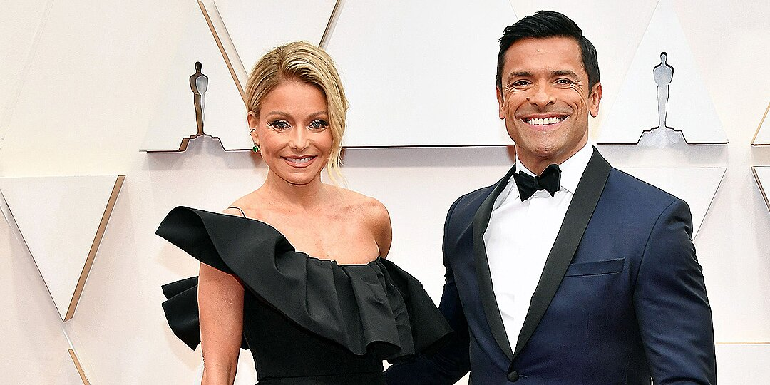 Kelly Ripa Tells 'Husbands' Mark Consuelos and Ryan Seacrest to Beware of Her Oscars Body Makeup